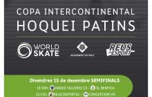 Cartell Copa Intercontinental d'hoquei patins Reus 2017