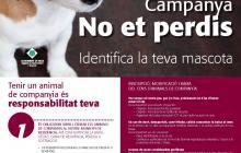 Cartell campanya cens i xipatge gossos Reus