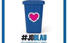 Cartell joblau campanya reciclatge reus 2017