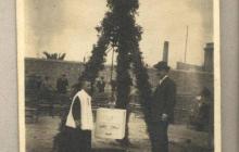 Col·lació del primera pedra, al 1911