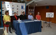 Roda de premsa de presentació del muntatge