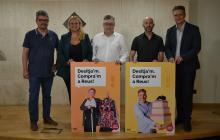 Foto de família de la presentació de la Campanya de Tardor de Turisme