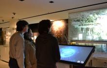La nova maqueta del Park Güell atrau als turistes
