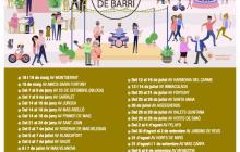 Imatge del calendari de les Festes de Barri de Reus 2019