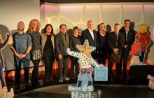 Foto de grup de la presentació de la campanya de Nadal 2018