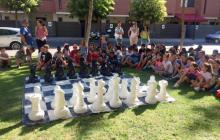 Imatge d'arxiu d'una edició anterior de la partida d'escacs