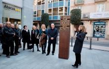 Presentació de l'escultura