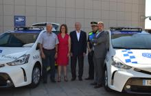 Presentació dels nous vehicles dela Guàrdia Urbana
