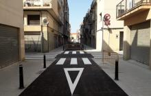 Carrer Alt de Sant Pere remodelat