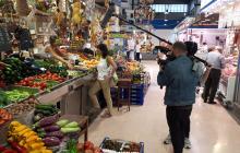 Gravació «Gent de mercats» al Mercat Central de Reus