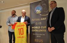 Roda de premsa presentació mundial futbol sala sub13