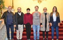 Roda de premsa del concert Vermusic Anna Roig i Àlex Cassanyes