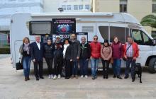 Recepció a la a «Volta Solidària per les Malalties Rares»