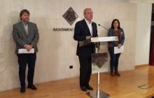 Òscar Subirats, Carles Pellicer i Mariluz Caballero