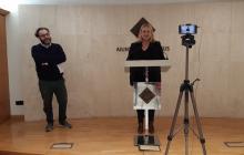 Roda de premsa presentació Reus@Casa