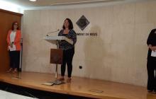 Dolors Vázquez, Marina Berasategui i Montserrat Caelles