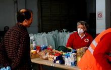 Creu Roja col·labora amb el Pla de Xoc alimentari