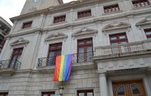 Foto d'arxiu del domàs LGTBI al palau municipal
