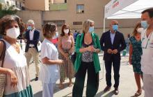 Visita al punt de cribratge per PCR al CAP Sant Pere