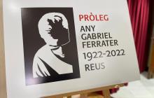 Logotip Pròleg Any Gabriel Ferrater