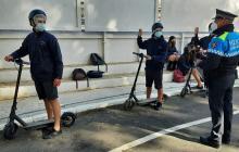Educació viària amb patinets elèctrics