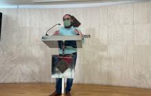 Daniel Recasens presentació programa Sant Pere 2021