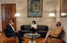 Visita institucional presidenta Consell Comarcal Baix Camp