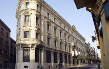 Imatge de l'edifici de l'antic Banc d'Espanya a Reus on actualment hi ha el Museu Salvador Vilaseca