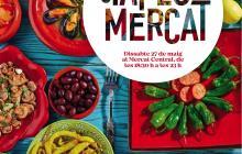 Cartell del «Menja't el Mercat»