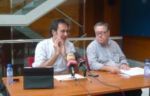 Foto de la presentació de la programació de Tardor 2013 del Teatre Bartrina