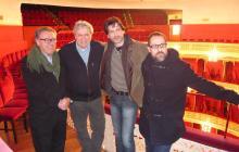 Una imatge de la presentació del cicle al Teatre Fortuny