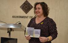 Imatge de Montserrat Flores durant la presentació de la campanya Reus ciutat d'acollida