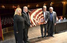 Imatge de l'acte de presentació de la nova programació del 1r semestre de 2017 del Teatre Fortuny de Reus