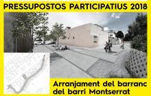 Imatge virtual millores darrer tram barranc de l'Escorial