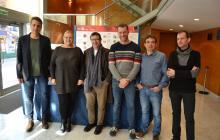 Foto de família de la presentació de la programació Hivern-Primavera 2017 del Teatre Bartrina de Reus
