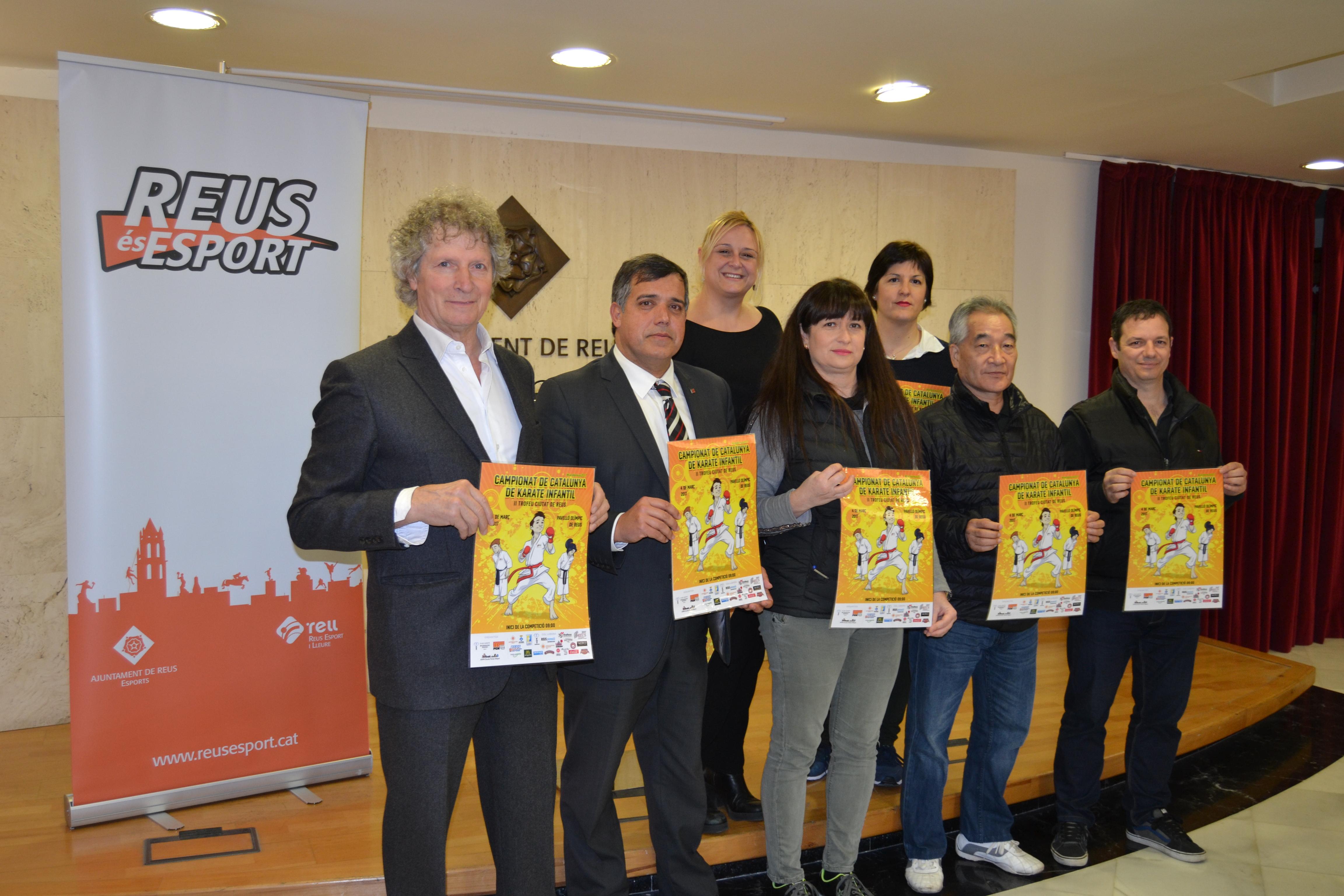El campionat de catalunya de karate infantil ii trofeu - Pavello olimpic reus ...